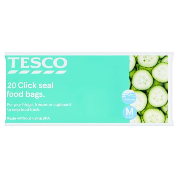 Tesco Resealable Food storage bags small 25